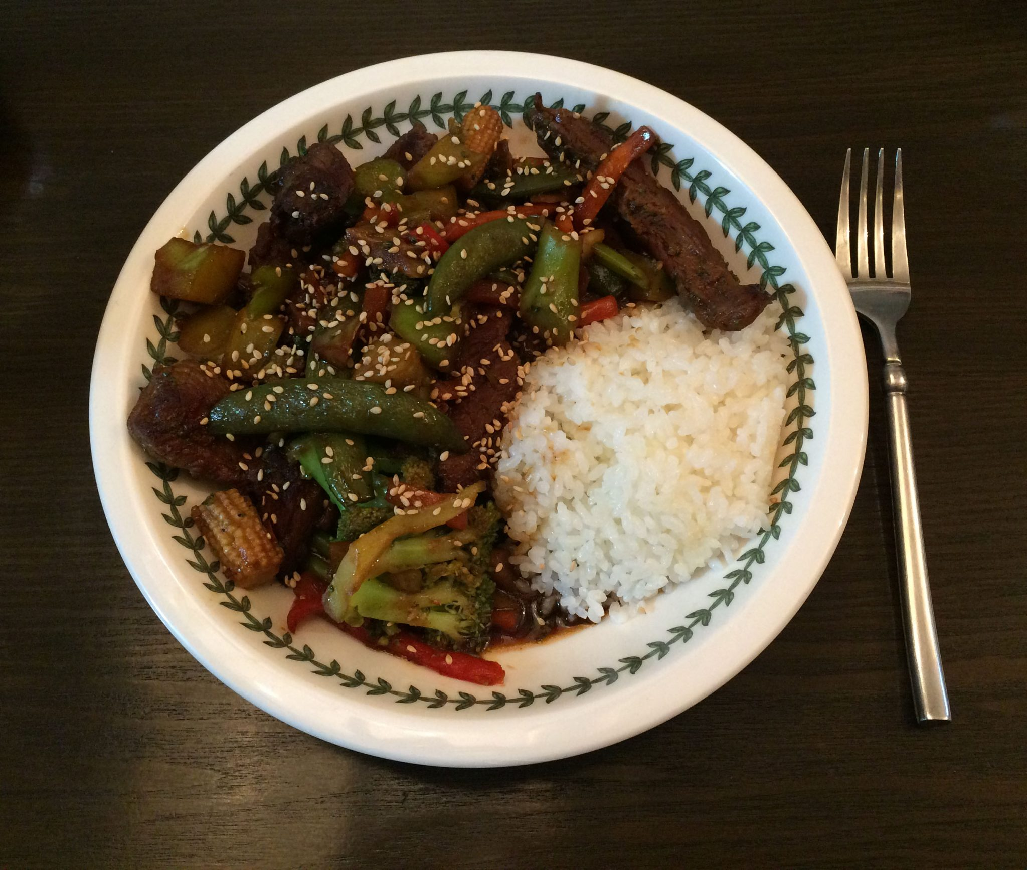 Beef Teriyaki with Vegetables