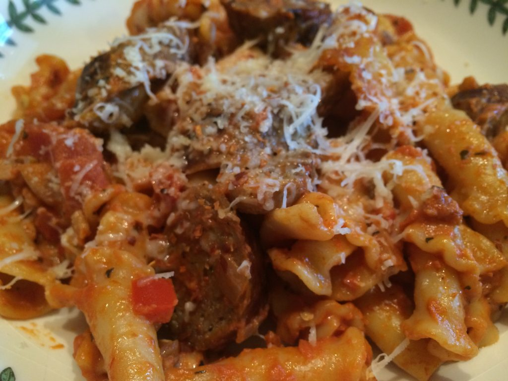 Campanelle Red Pepper Cream