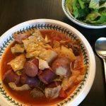 Sausage Cabbage Stew