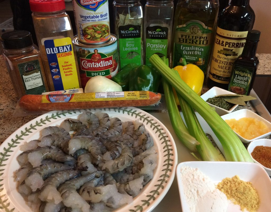 Shrimp Creole - Ingredients