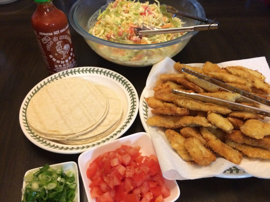 Hawaiian Fish Taco - Setting