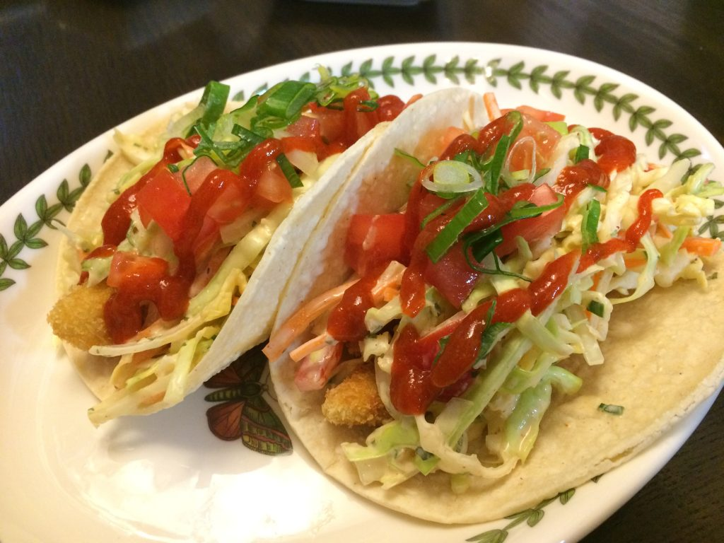 Hawaiian Fish Tacos