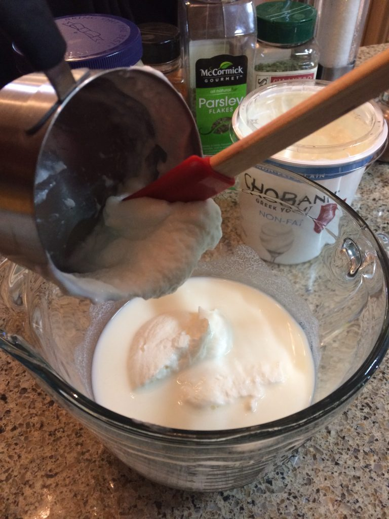 Ranch Dressing - Greek yogurt