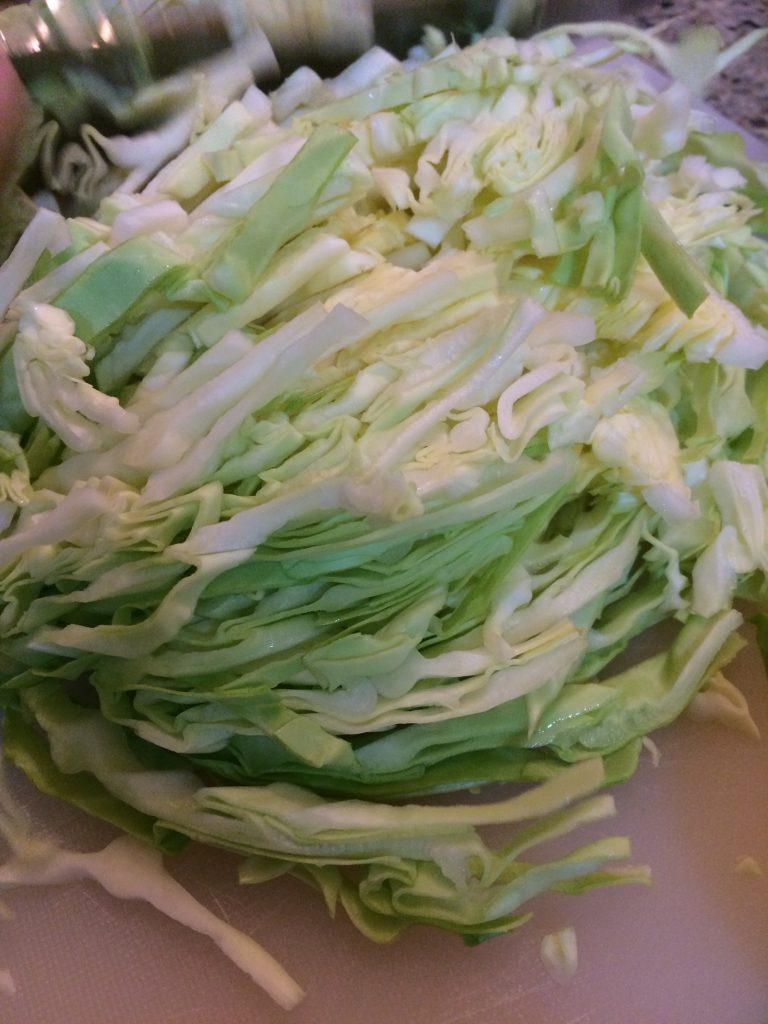 Southwestern Coleslaw - Shredded cabbage