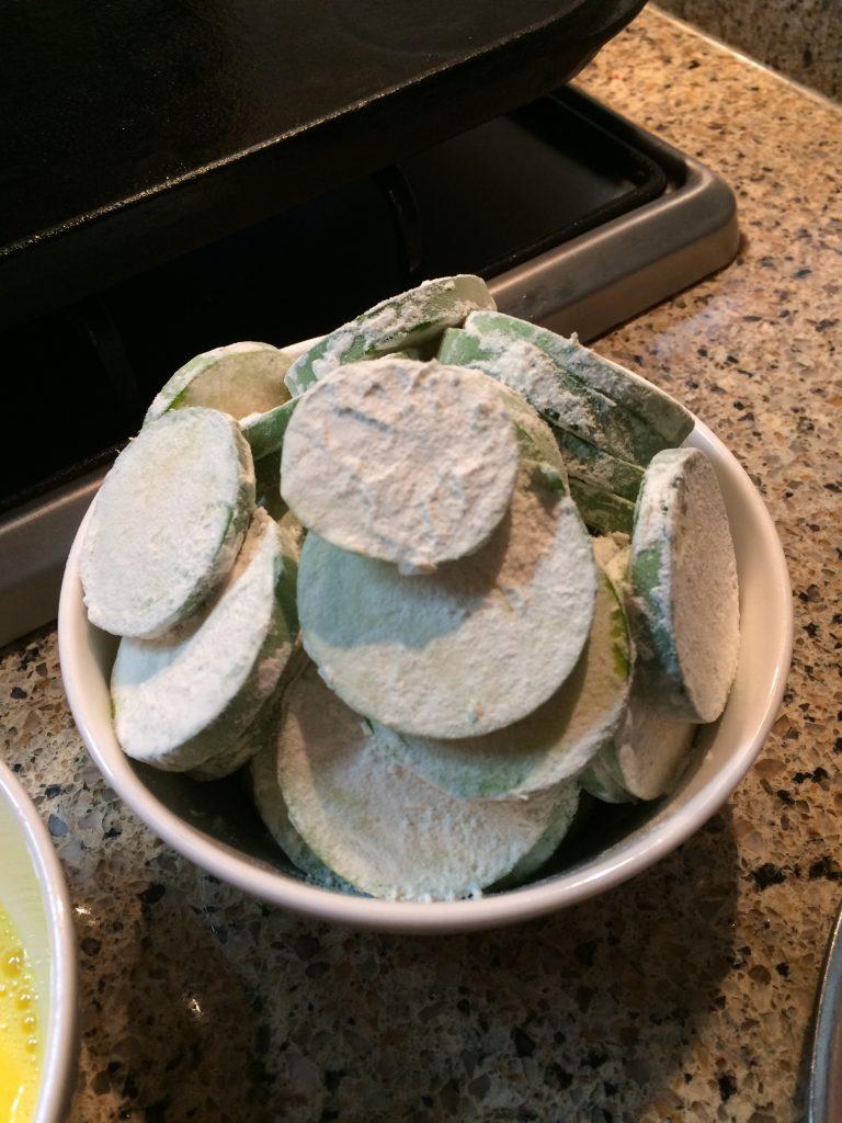 Zucchini Jun - Floured